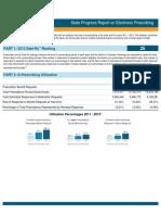 Alabama 2013 Progress Report on E-Prescribing