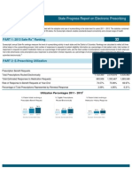 Hawaii 2013 Progress Report on E-Prescribing