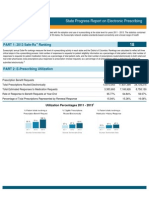 Indiana 2013 Progress Report on E-Prescribing
