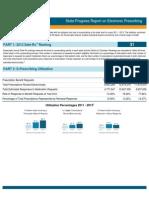 Maryland 2013 Progress Report on E-Prescribing