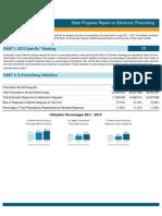 Michigan 2013 Progress Report on E-Prescribing