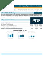 Minnesota 2013 Progress Report on E-Prescribing