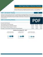 Nevada 2013 Progress Report on E-Prescribing