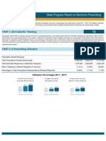 Nebraska 2013 Progress Report on E-Prescribing