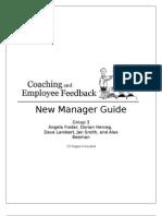 Coaching and Employee Feedback - Training Manual Final