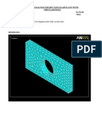 Ansys Lab Record Experiments-April-2012