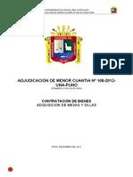 Amc 108-2012-Mesas y Sillas