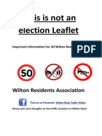 Wilton Residents Association Fact Sheet April 2014-3