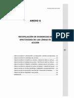 MINSAL 2010 ENA Anexo 6 Evidencias de Efectividad
