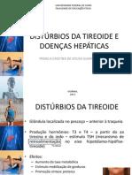 Distúrbios Da Tireoide e Doenças Hepáticas