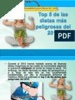 Top 5 de Las Dietas Más Peligrosas Del 2012