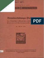Brandverhütungs-Plakate 1935