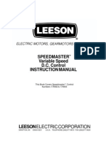 Manual Speedmaster Dcvariable
