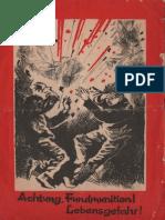 Fundmunition 6 - Achtung Fundmunition ! Lebensgefahr !