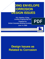 Building Envelope Corrosion Design Issues