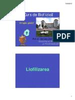liofilizarea