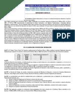 Reglamento de Evaluación Año 2014 Para Matrícula