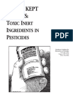 Worst Kept Secrets - Toxic Inert Ingredients in Pesticides - NCAP