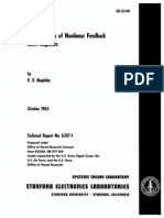 SEL-63-118 the Syntheis of Nonlinear Feedback Shift Registers Oct63