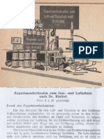 Experimentierkasten zum Luft- und Gasschutz nach Dr. Kinttof / Phywe