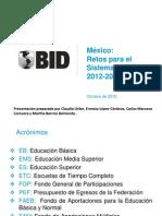 México_retos Para El Sistema Educativo-2012-2018
