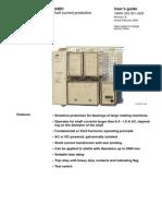 1mrk502001-Uen b en Raric Shaft-current Relay