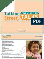 Providence Talks Curriculum