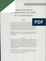 Comunicacion interna organizaciones