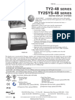 Alto Shaam TY2 and TY2SYS Heated Display