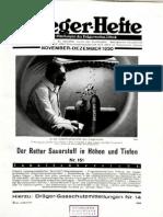 Draeger-Hefte Nov. 1930 - Okt. 1931 ( Nr. 151 - 169 ) November 1931 - Oktober 1931