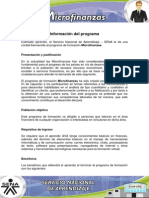 Informacion Microfinanzas