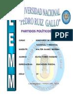 Partidos Políticos Del Peru