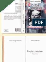 Escritos Esenciales. Dietrich Bonhoeffer
