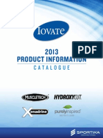 International Product Catalogue for Sportika International