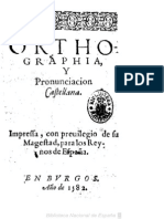 1582 - Orthographia y pronunciacion castellana - Juan López de Velasco - Burgos, 1582.pdf