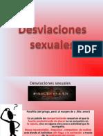Desviaciones sexuales