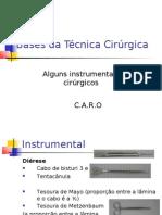 Instrumentais cirurgicos