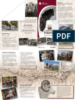 Brochure Bow Valley Parkway - Parks Canada