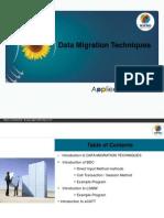Data Migration Techniques in Sap ABAP