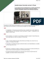 Atacuri teroriste Rusia 1999-2013