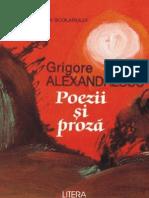 Alexandrescu Grigore - Poezii Si Proza (Aprecieri)