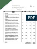 Presupuesto Proyecto Municipio Silva, II Etapa.
