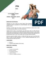 eucaristia y programa novena maria auxiliadora 2014.docx