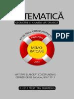 memorator matematica