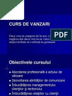 Curs de Vanzari
