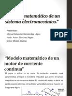Modelo Matemático de Un Sistema Electromecánico