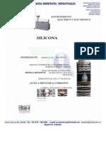 Ficha Silicona