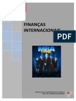 Apostila de Finanças Internacionais - 2010