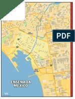 Ensenada Map
