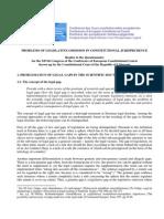 IDP, OJC () Jurisdição Constitucional e a Omissão Legislativa Infraconstitucional - Estônia